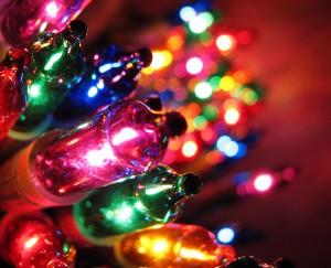 Cuida las instalaciones de las luces de Navidad.