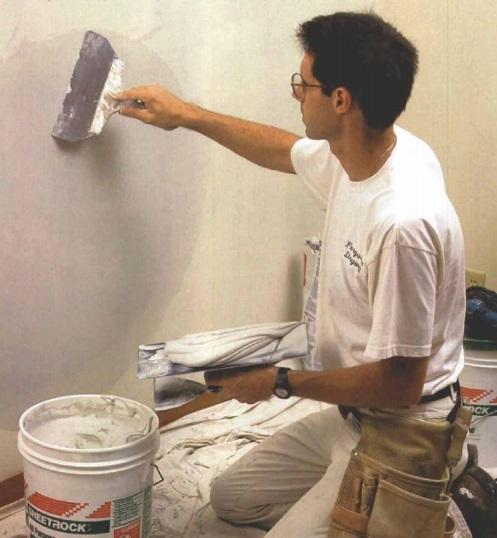 Problemas en paredes de yeso por mala instalación